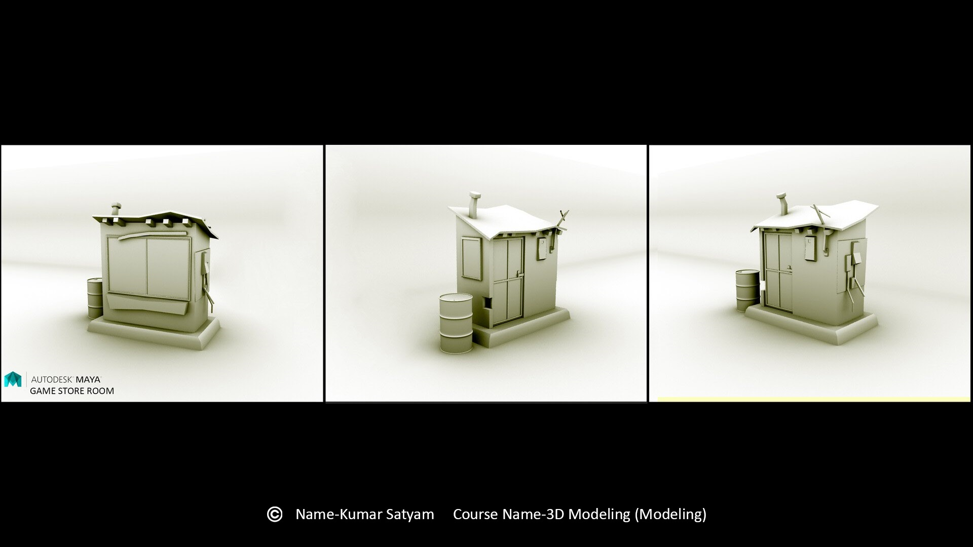 Reliance Education - Satyam Kumar - 3D Modelling