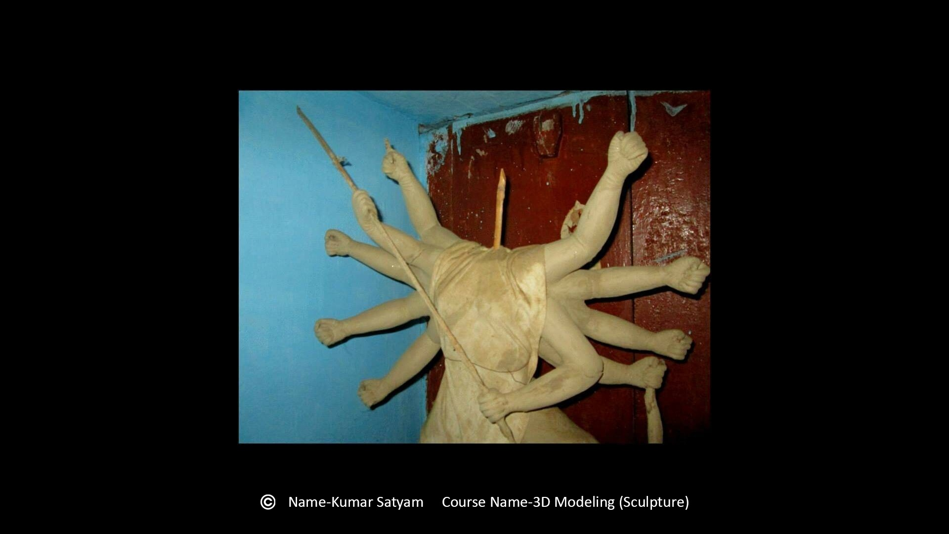 Reliance Education - Satyam Kumar - 3D Modelling - Clay Art
